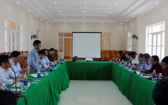 BQL VQG Phong Nha – Kẻ Bàng tiếp, làm việc với đoàn công tác của các cơ quan bộ và một số...